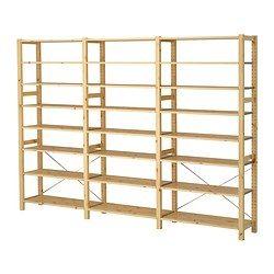 ivar 3 elem b den kiefer b ro ikea ivar m bel und ikea. Black Bedroom Furniture Sets. Home Design Ideas