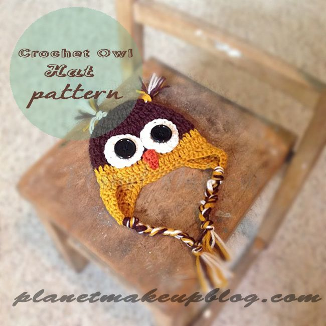 photo CrochetOwlHatFreePattern_zps0f86bf0d.jpg   Craft Room Ideals ...