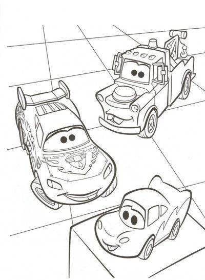 Disney Pixar Cars 2 Coloring Pages