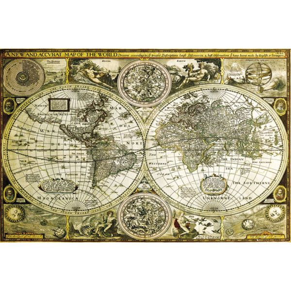 Map historical maxi poster 61 x 915cm world map historical maxi poster 61 x 915cm gumiabroncs Images