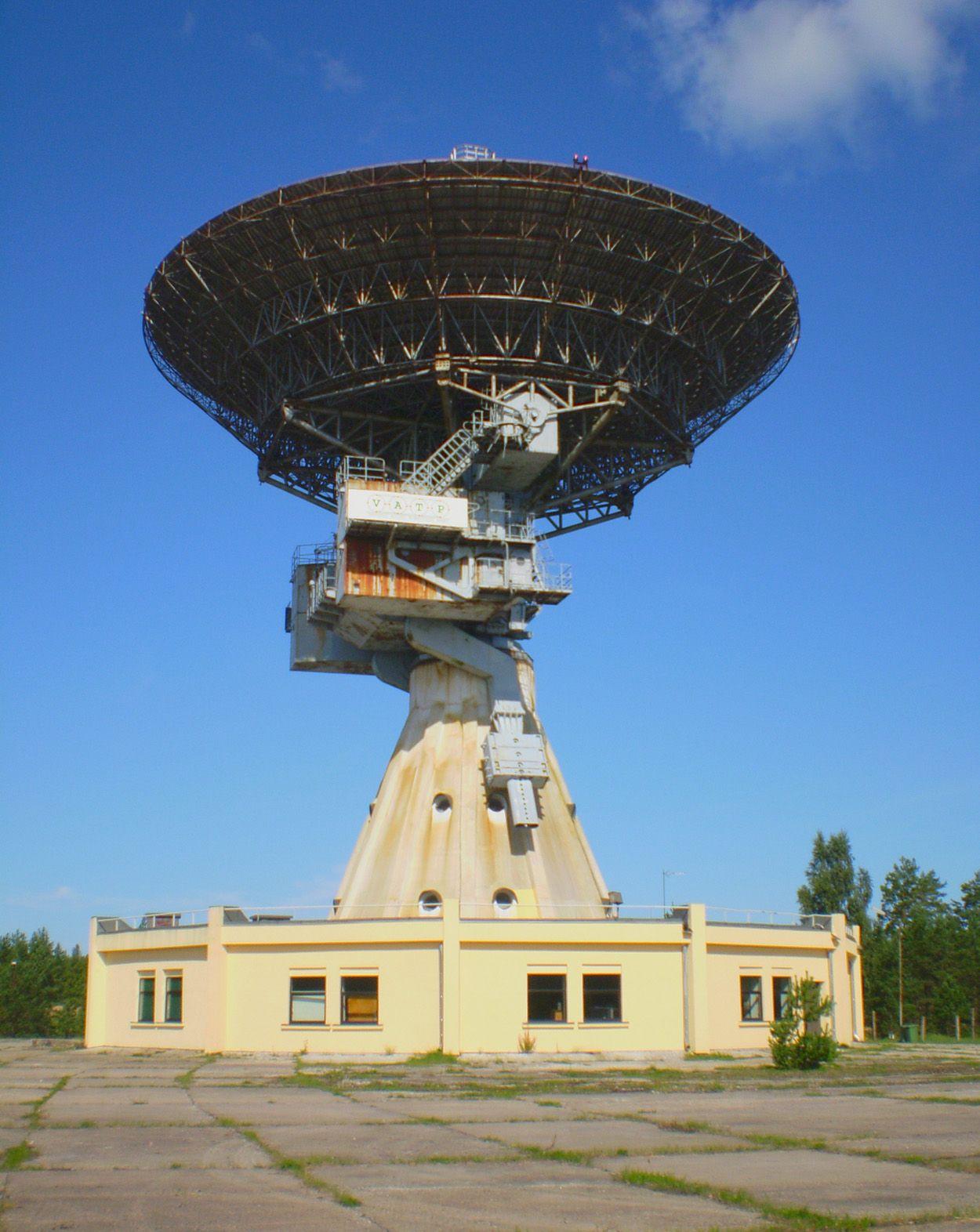 Irbene Radio telescope   Latvia   Radio astronomy ...