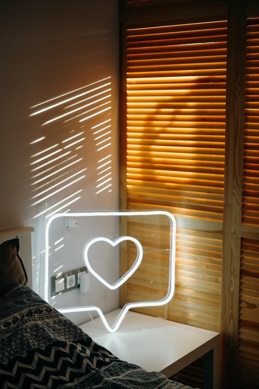 Like Instagram heart Neon sign Custom color large size