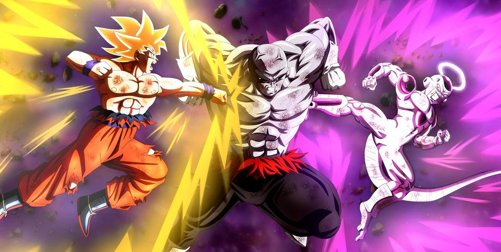 Goku Y Freezer Vs Jiren By Https Www Deviantart Com Lucario Strike On Deviantart Anime Dragon Ball Super Dragon Ball Super Manga Dragon Ball Super