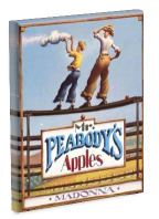 Lesson plan for Mr. Peabody's Apples  by Madonna. One Saturday, Mr. Peabody, a beloved teacher and baseball coach, finds himself alone on the ball field. He wonders where everybody is until the bat boy, Billy Little, shows up. Billy tells him that another student, Tommy Tittlebottom, saw Mr. Peabody taking apples from the market and spread a rumour he was a thief. Mr. Peabody then shows Tommy that what matters is the truth — not how things appear.