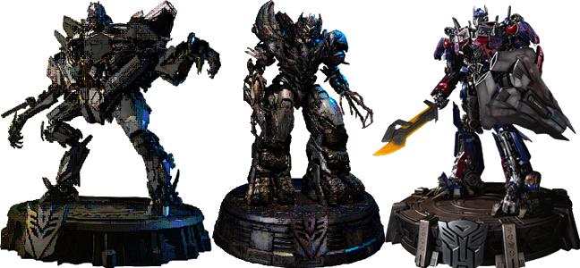 Transformers Iron Studios