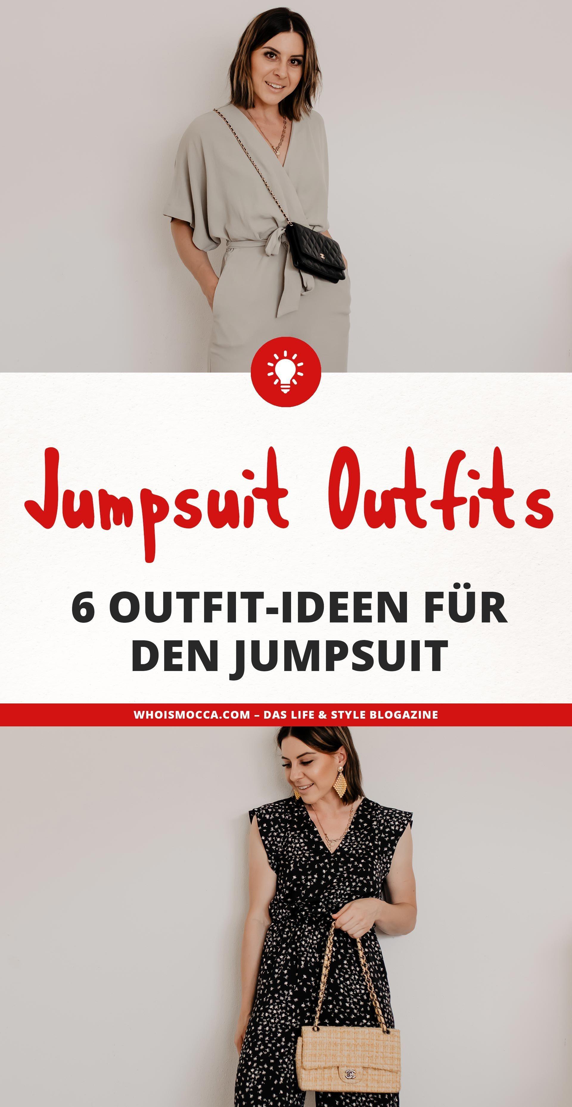 Jumpsuit kombinieren: 6 Sommer Outfits für Büro und Alltag