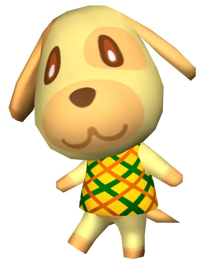 animal crossing characters dog