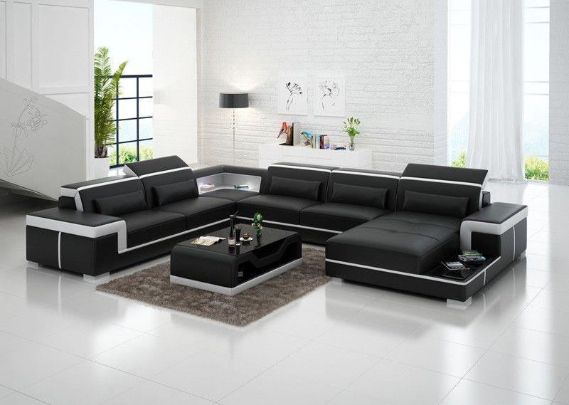 Living Room Furniture Leather Living Room Sofa Set