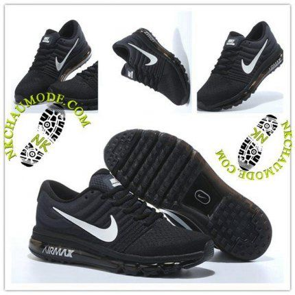 huge discount f5819 e7af4 Montante   Nike Chaussure Sport Air Max 2017 Homme Cushion Fly Line Noir