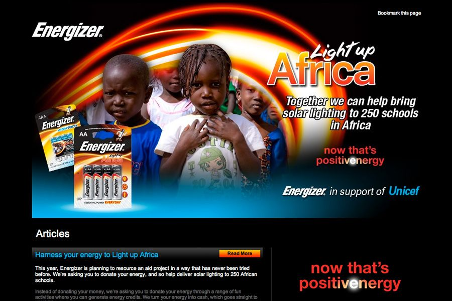 Energizer – Light Up Africa