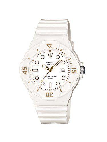 Casio LRW-200H-7E2VEF - Reloj analógico de cuarzo para mujer con correa  resina color blanco 57a8616f1854