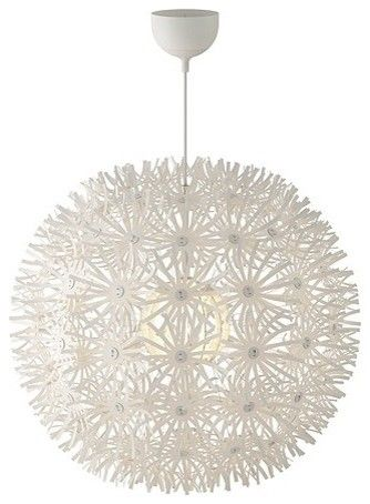 Pendant Lamp From Ikea It S Like A Papery Plastic Material And It