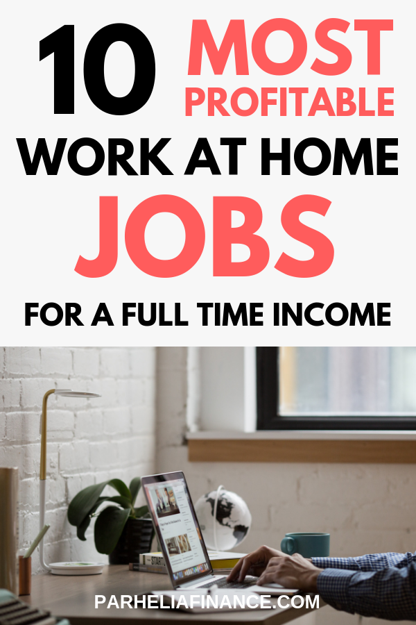 10 Most Profitable Work At Home Jobs For 2019 Legitimate Work