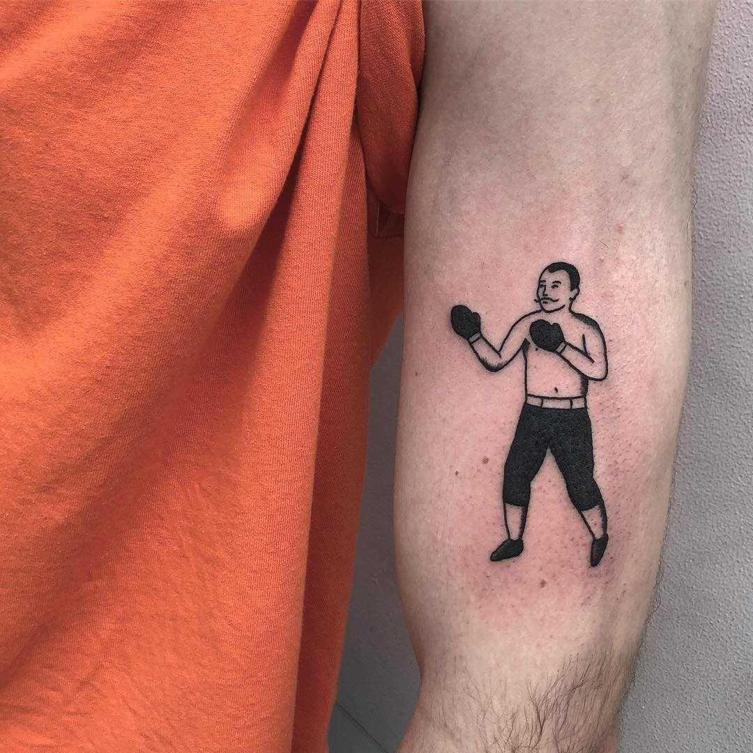 Pin By Evandro Dante On Tatuaje Boxer Tattoo Cool Tattoos Tattoos