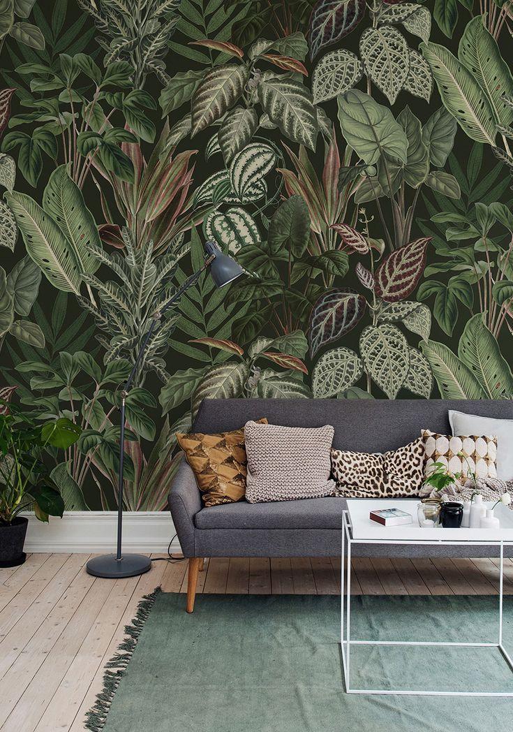 Mischievous Monkeys, Lush Pinterest LUSH, Wall ideas and Monkey - moderne tapeten wohnzimmer