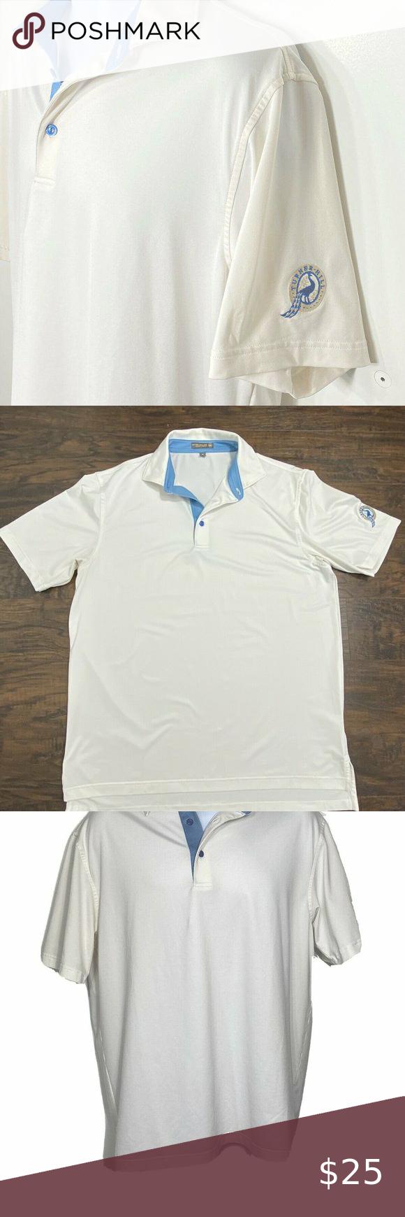Peter Millar summer comfort golf shirt polo M in 2020