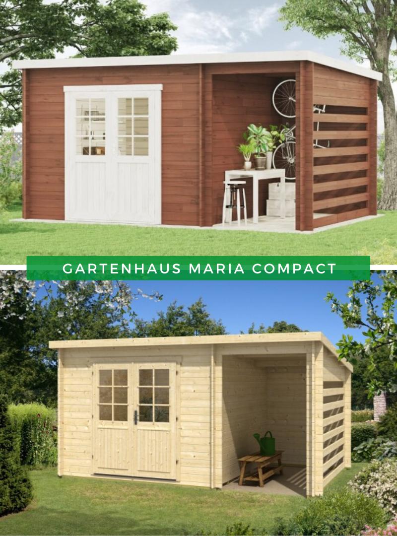 Pultdach Gartenhaus Modell Maria 28 Compact Gartenhaus Pultdach Gartenhaus Pultdach