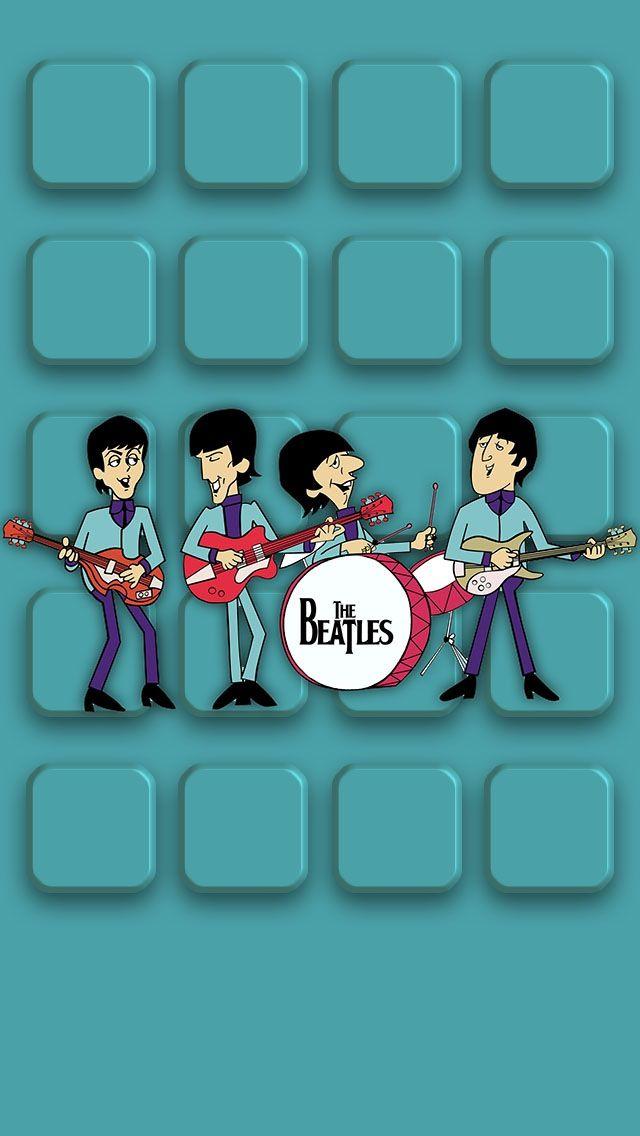 Beatles iPhone 5 icon skin Beatles wallpaper iphone