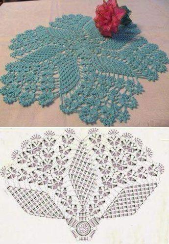 Centro De Mesa De Croche Com Grafico Criatividade Crochet Doily Patterns Crochet Doily Diagram Crochet Square Patterns