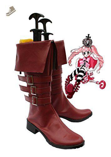 Telacos Black Butler Kuroshitsuji Demon Ciel Cosplay Shoes Boots Custom Made