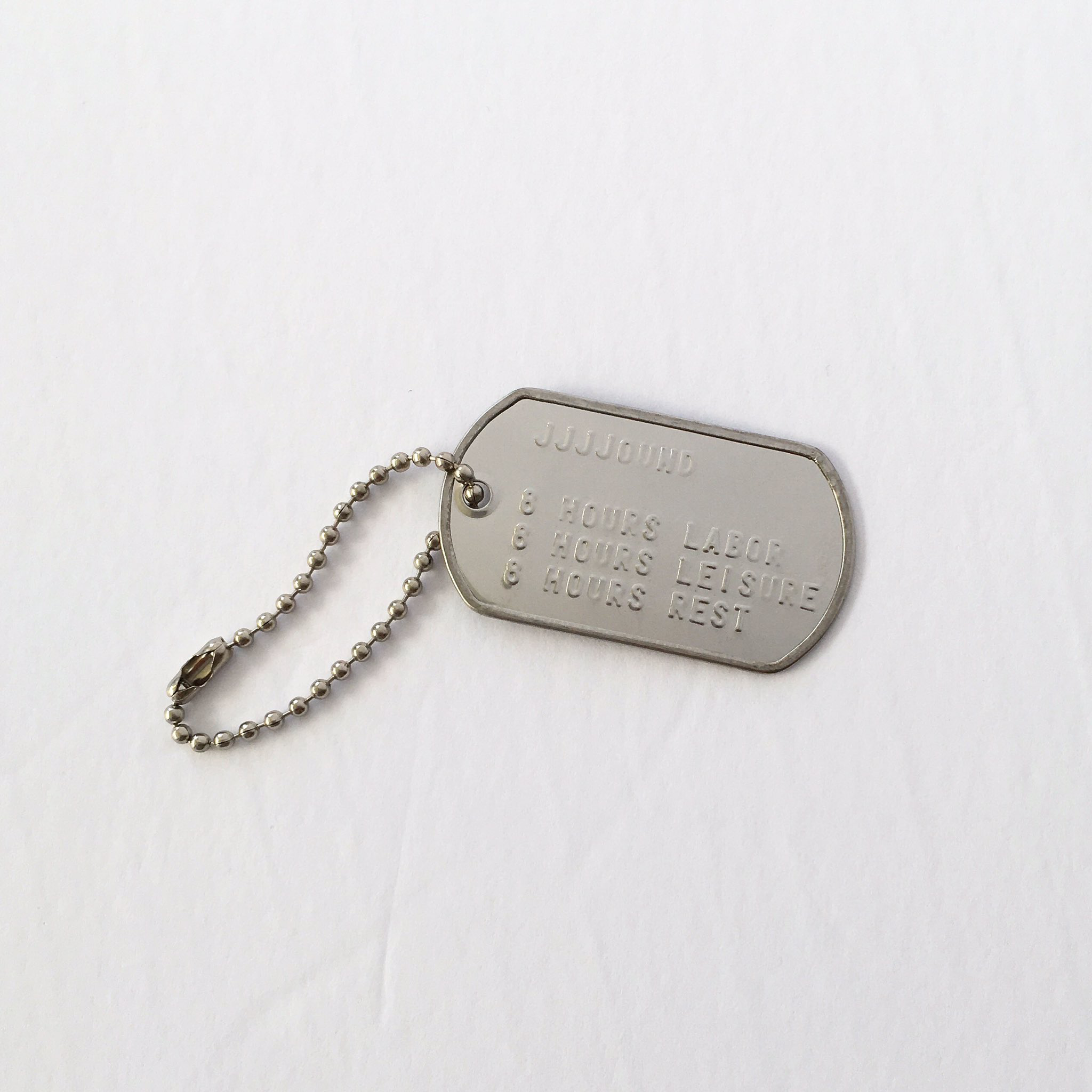Pin By Micah Panama On Typography Tag Necklace Dog Tag Necklace Necklace