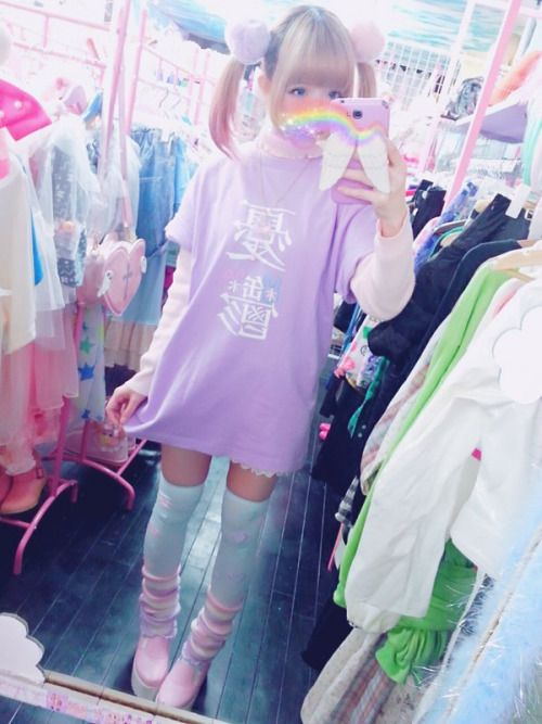 Trop kawaii ! Je trouve dommage de ne trouver ce style qu\'au Japon ...