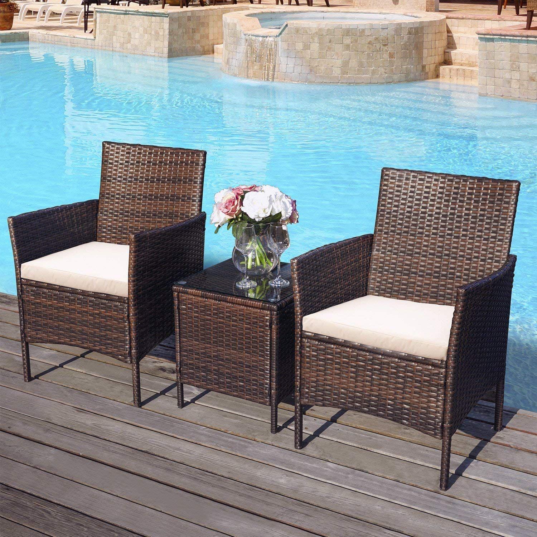 3 Stucke Immer Klassischen Braunen Sofas Und Der Tisch Mit
