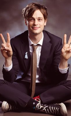 matthew gubler from criminal minds  spencer reid is my current tv crush! i like my guys nerdy.