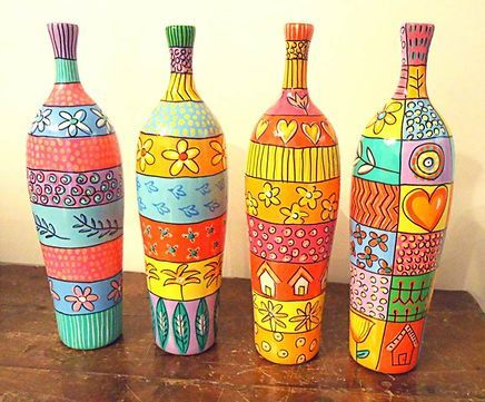 Botellas pintadas pinterest bottle bottle art and craft botellas pintadas bottle craftsdecorative bottleswine bottlesdecoupagediy solutioingenieria Images
