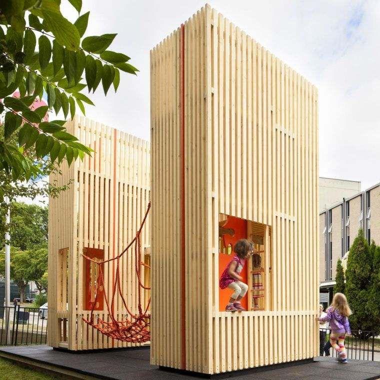 Maison enfants d 39 ext rieur 6 projets de design exceptionnel cabane pinterest maison - Cabanes de jardin originales ...