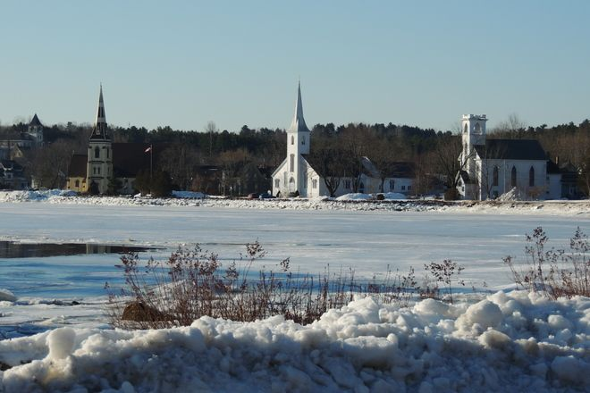 Three Churches,Mahone Bay,N.S.