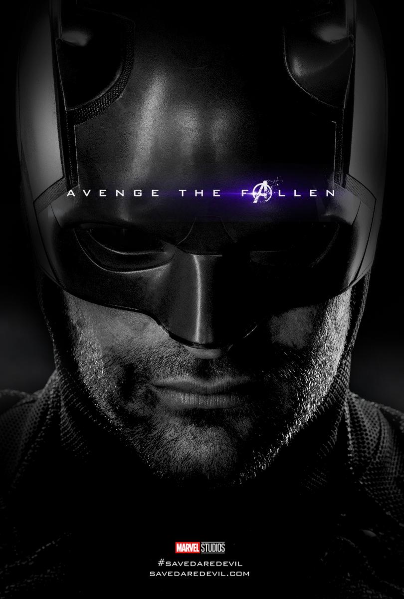 Avenge Him Daredevil Endgame Poster Marvel Daredevil Marvel Tv Marvel Films