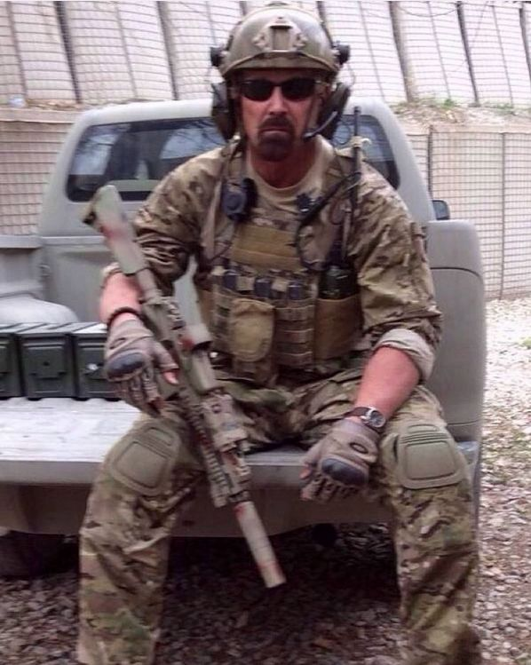 US Army Major Keith Butler in Afghanistan. Til Valhalla