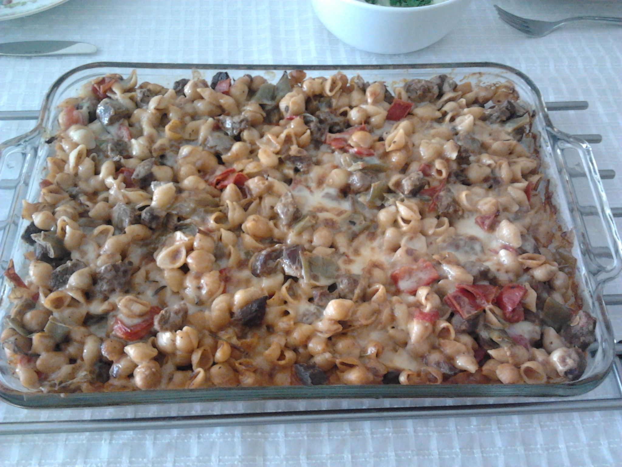 Photo of Baked Pasta (Baked Pasta Guvec) www.lezzet.com.tr …