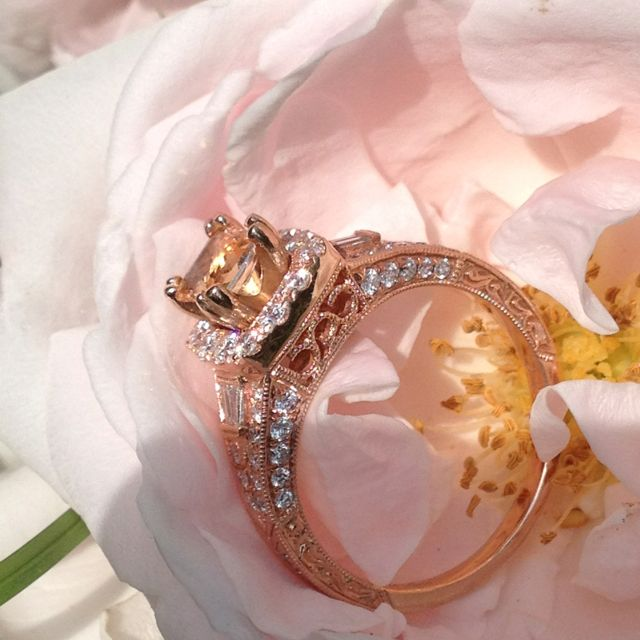 My for real engagement ring <3