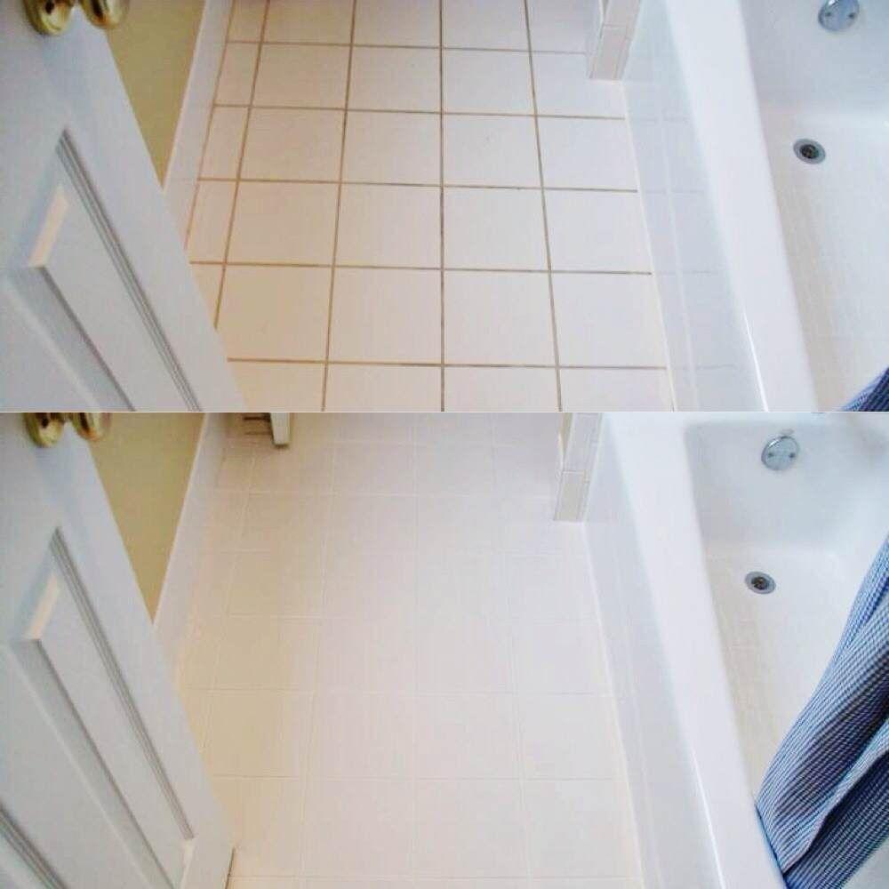 Bathroom tile grout cleaning | ideas | Pinterest | Bathroom tiling ...
