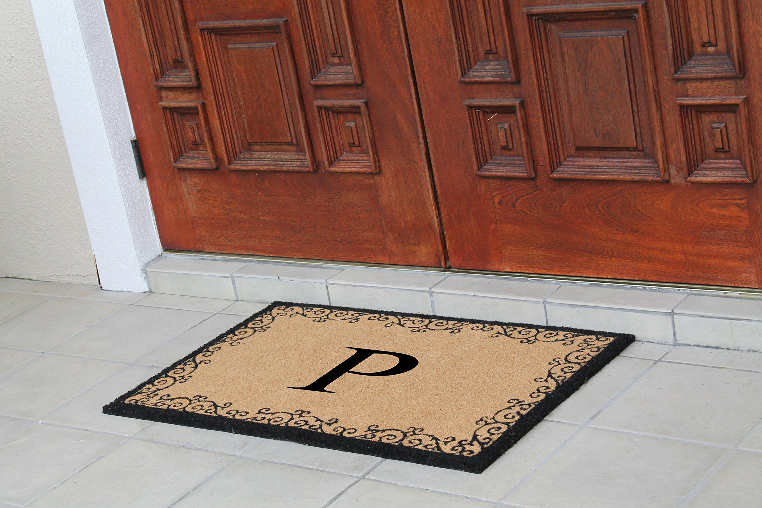 monogram deforge mat monogrammed joss outdoor door pdp main reviews doormat