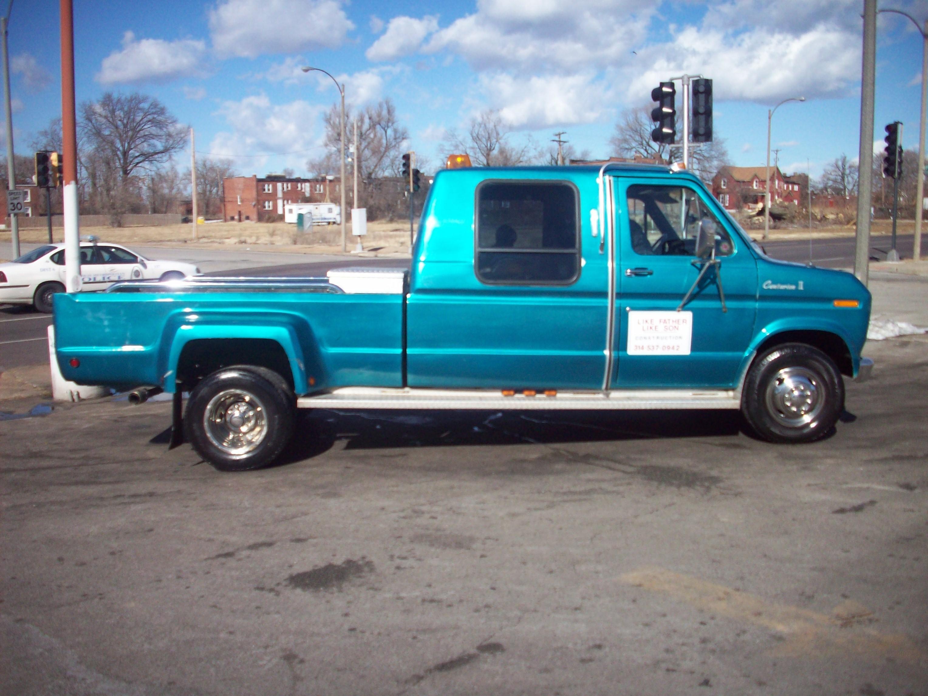 1991 ford e 350 6