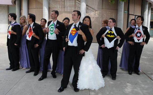 Superhero Wedding Pose Superhero Wedding Wedding Poses Wedding Picture Poses