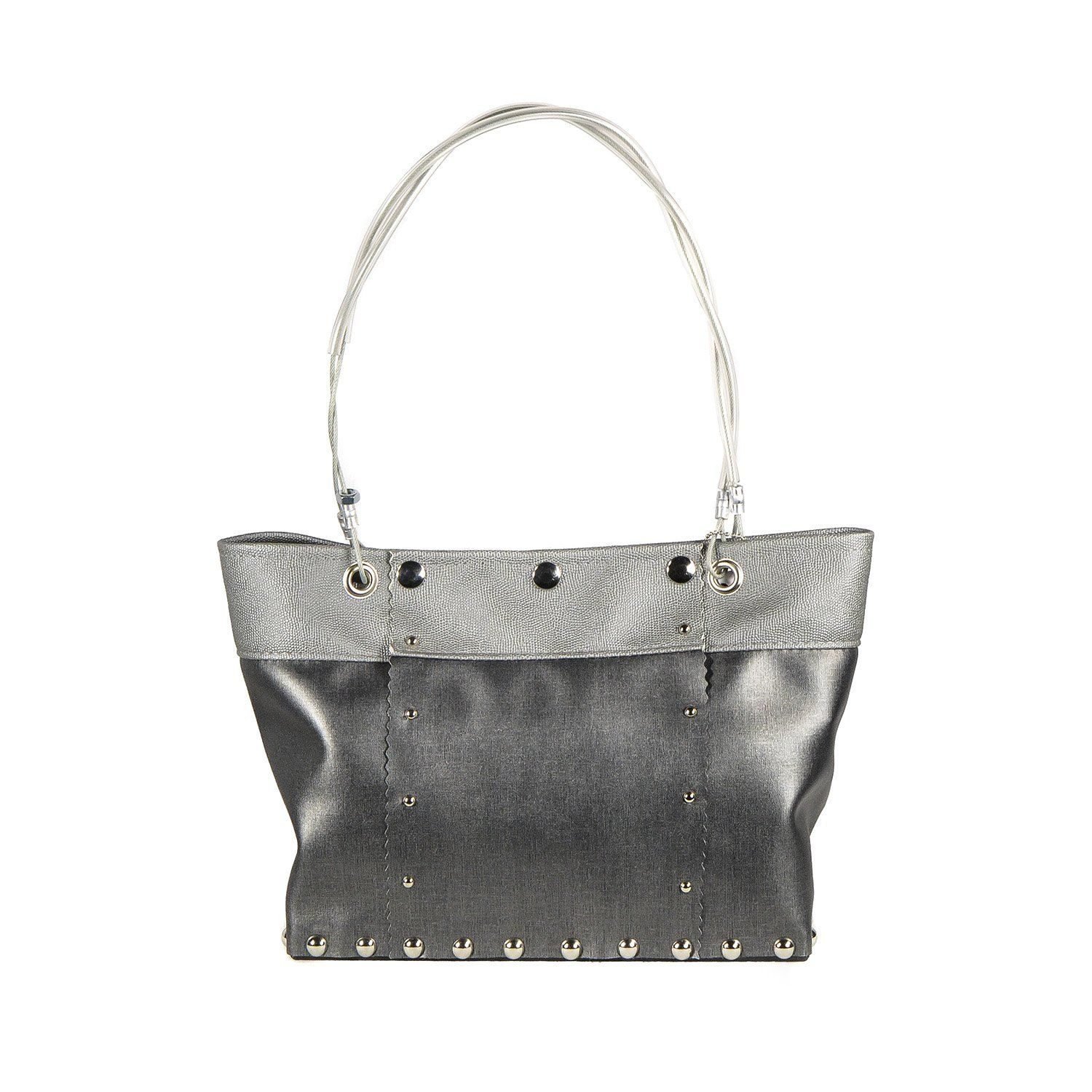 New Medium Split Bag In Charcoal And Stone By Hardwear By