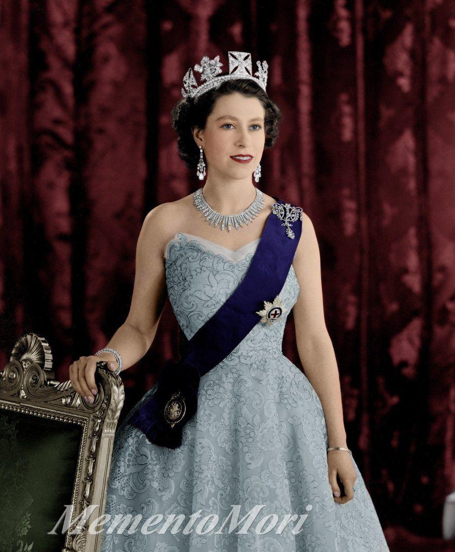 Queen Elisabeth II 2. by M3ment0M0ri.deviantart.com ...