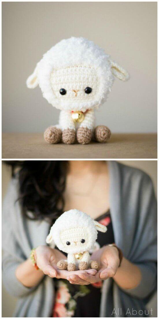 Cutest Crochet Lamb Patterns WIth Teddys, Blankets