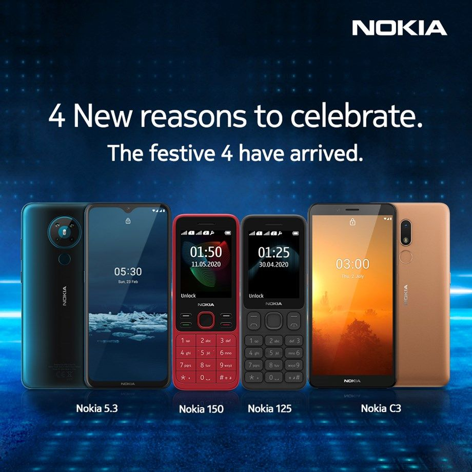 Nokia launches four new phones in India Specs and pricing