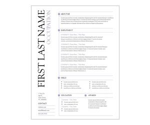 purple lines resume template get this free printable customizable
