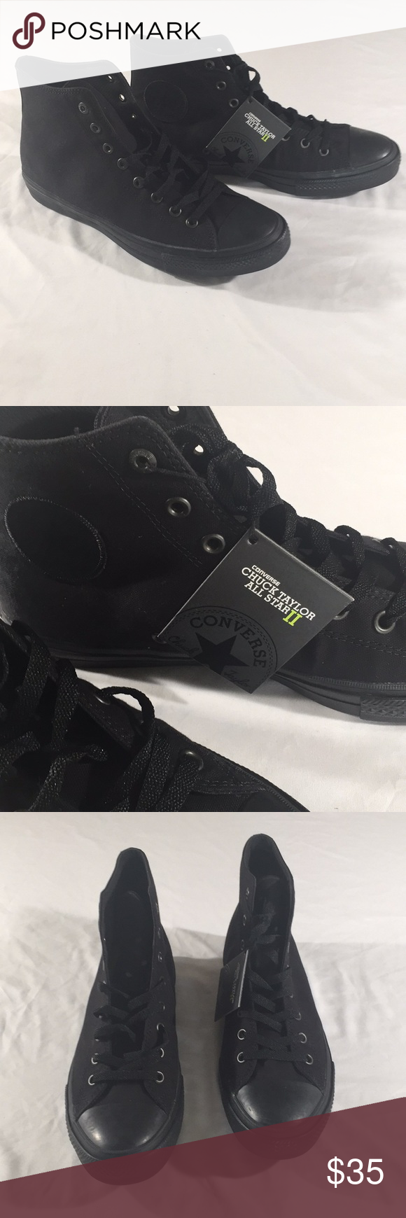 3cdda065b1ec Converse 151221C CTAS II HI Converse 151221C CTAS II HI Color black New  with tags (no box) Men size 10 women size 12 Men size 11 women size 13  Converse ...