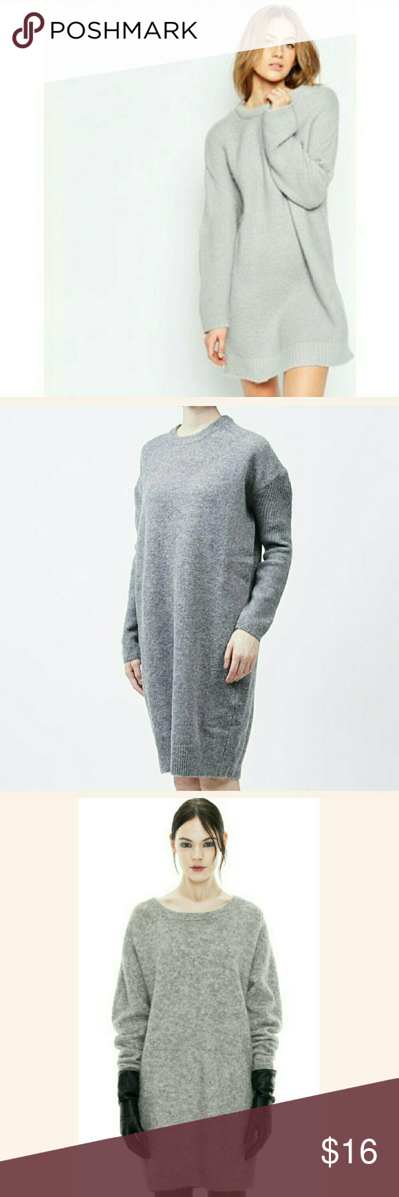 Grey Oversized long sweater dress | Long sweaters, Conditioning ...