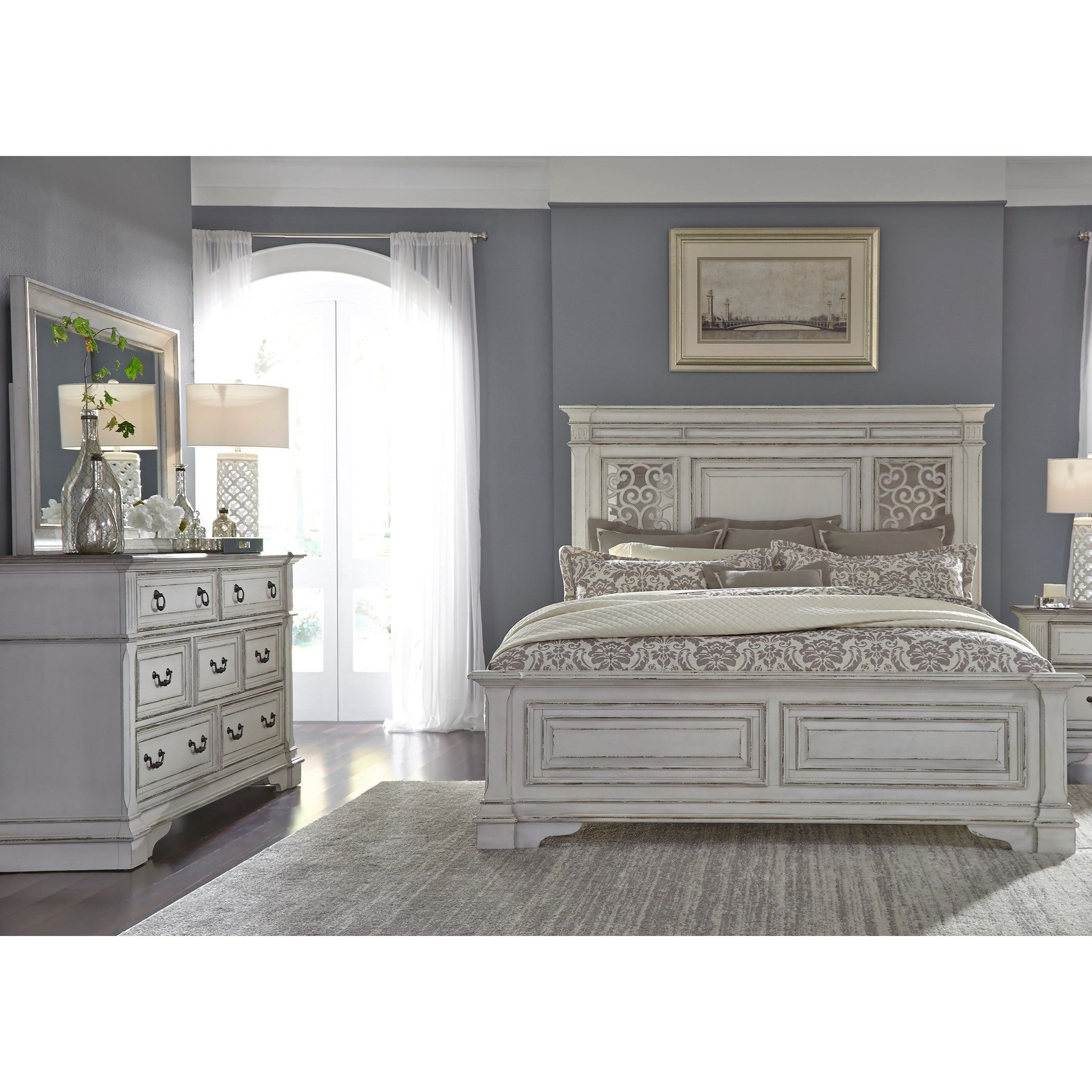 Abbey Park Queen Bedroom Group by Liberty Furniture in