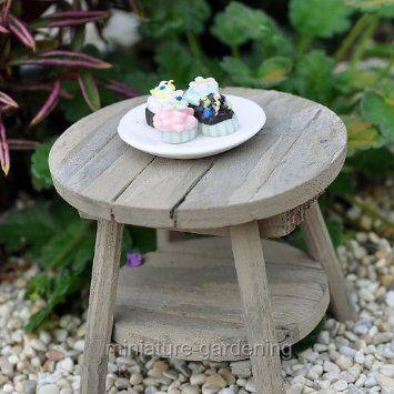 Amazon.com: Miniature Fairy Garden Cupcakes on a Plate: Patio, Lawn & Garden