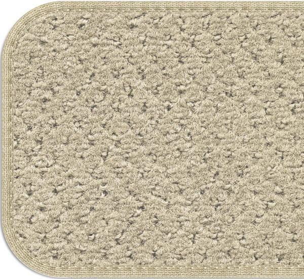 Best Set Of 15 Skid Resistant Carpet Stair Treads Ivory Cream 400 x 300