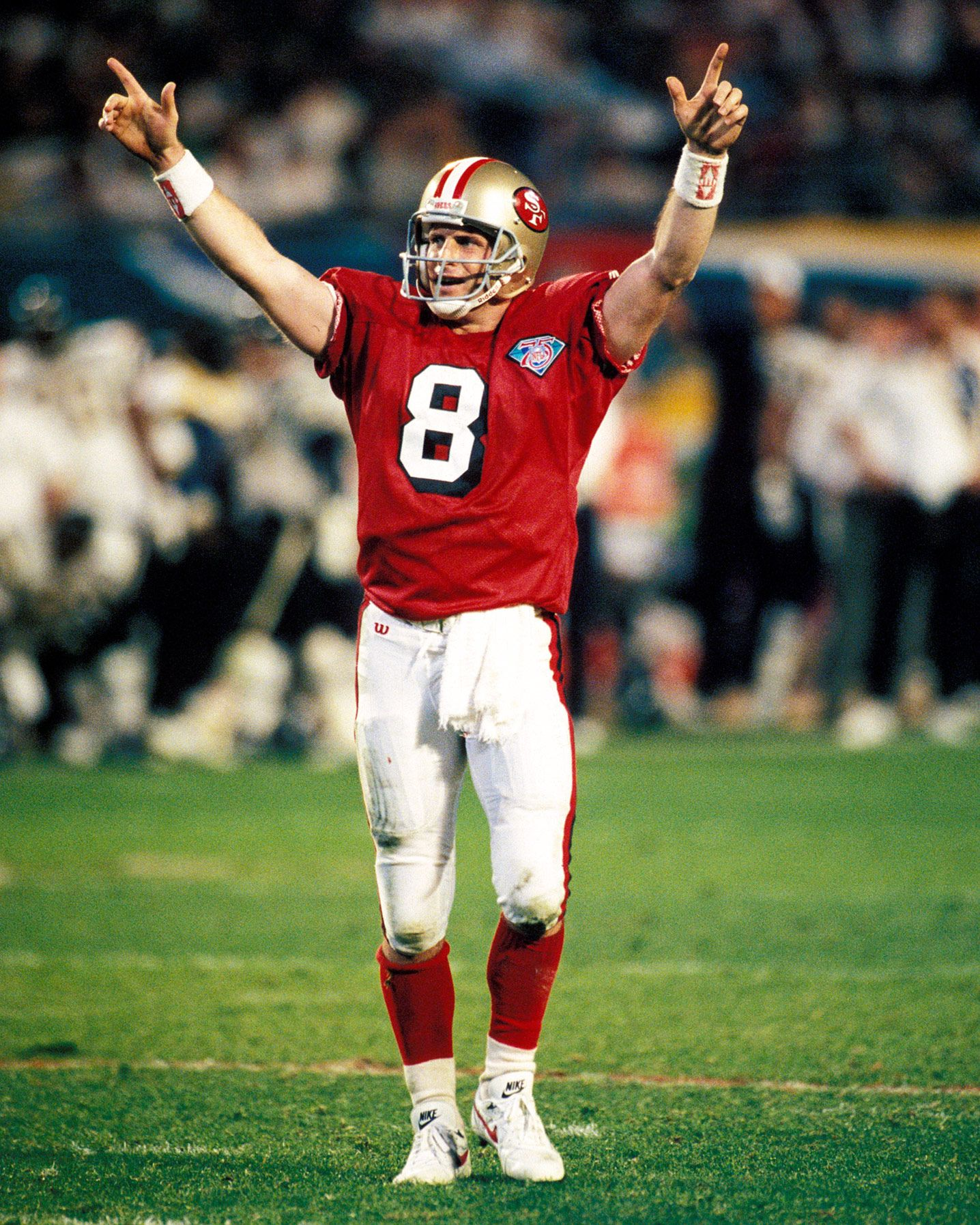 Steve Young San Francisco 49ers Nfl 49ers Byu Football Nfl